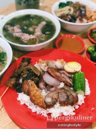Foto 3 - Makanan( Nasi Campur) di Bakmi Bintang Kalimantan oleh Fioo | @eatingforlyfe