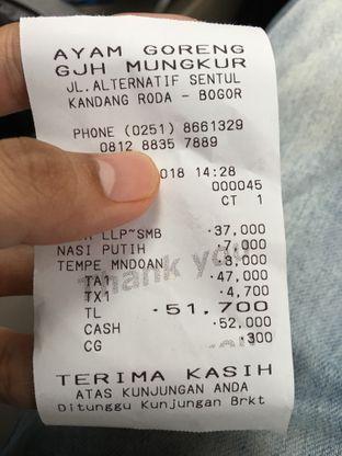 Foto review Ayam Goreng Gajah Mungkur oleh @Tedsuja  5