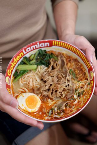 Foto 1 - Makanan di Golden Lamian oleh Vionna & Tommy