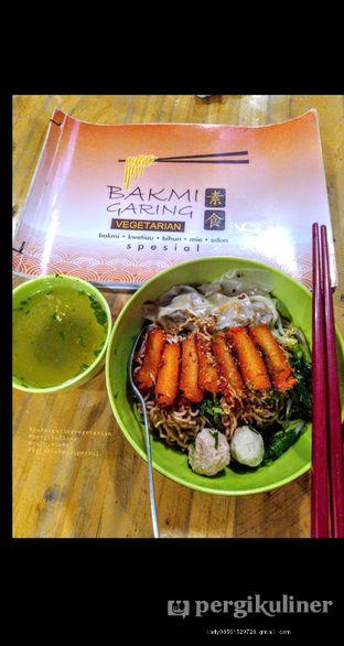 Foto review Vegetarian Bakmie Garing H-P (Hot Pedas) oleh Ruly Wiskul 4