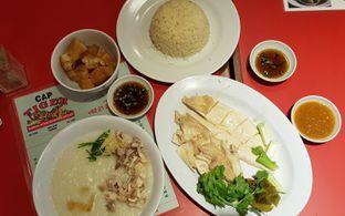 Foto 1 - Makanan(Bubur Ayam & Nasi Hainam) di Bubur Cap Tiger oleh Avien Aryanti