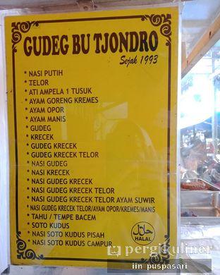 Foto review Gudeg Bu Tjondro oleh Iin Puspasari 4