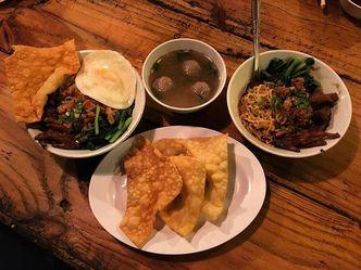 Foto Makanan di Mie Ceker Bandung