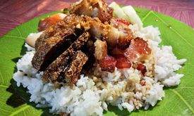 Nasi Campur Kalimantan
