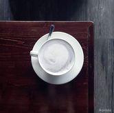Foto Taro Latte di Meet Me Cafe