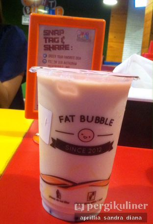 Foto 5 - Makanan(Fat Bubble Milk tea) di Fat Bubble oleh Diana Sandra