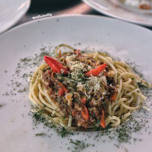 Foto 5 - Makanan(Spagheti is lava) di Tamper Coffee oleh Stellachubby