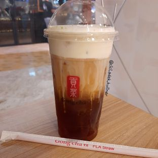Foto review Gong cha oleh Jenny (@cici.adek.kuliner) 1
