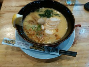 Foto 4 - Makanan(Toripaitan Ramen Shoyu (IDR 76k)) di Ramen SeiRock-Ya oleh Renodaneswara @caesarinodswr