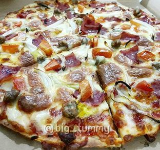 Foto - Makanan di Domino's Pizza oleh Ken @bigtummy_culinary