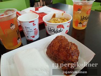 Foto Makanan di Holdak Crispy Chicken