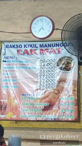 Foto review Bakso Kikil Sapi Asli Manunggal Cak Mat oleh Roro @RoroHais @Menggendads 2