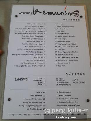 Foto 6 - Menu(Update menu warung kemuning) di Warung Kemuning oleh @foodiary.me | Khey & Farhan