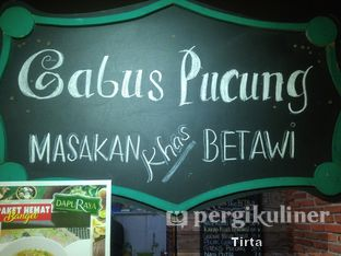 Foto review Gabus Pucung Masakan Khas Betawi oleh Tirta Lie 2