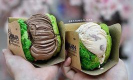 Hokkaido Icecream Puff
