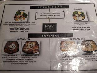 Foto 2 - Menu(Menu) di PSY Steamboat Yakiniku oleh yantioctavianti
