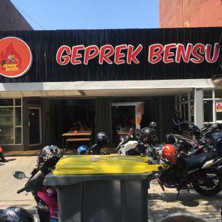 Foto 1 - Eksterior di Geprek Bensu oleh Eaters Bdg