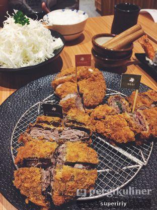 Foto 1 - Makanan(katsu platter) di Kimukatsu oleh @supeririy