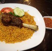 Foto Nasi Kabsah Kambing (dine In) di Restaurant Ayla & Shisa Cafe