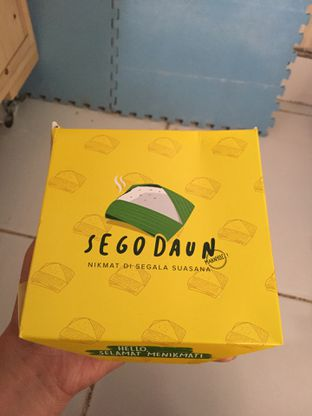 Foto 1 - Makanan di Sego Daun oleh Yohanacandra (@kulinerkapandiet)