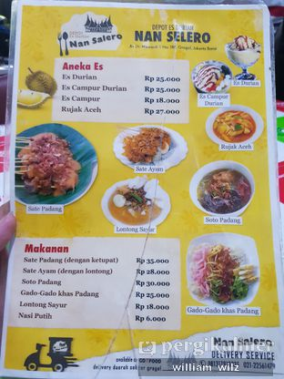 Foto 3 - Menu di Depot Es Durian Nan Salero oleh William Wilz