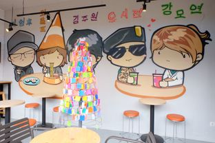 Foto review Chingu Korean Fan Cafe oleh IG : FOODTRAVELID  15