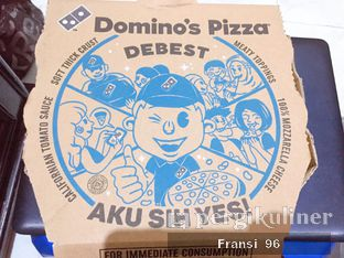 Foto review Domino's Pizza oleh Fransiscus  2