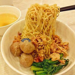 Foto 1 - Makanan(Bakmi Spesial GM Bakso) di Bakmi GM oleh duocicip