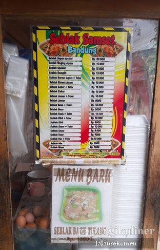 Foto 6 - Menu di Seblak Samset Bandung oleh Jajan Rekomen