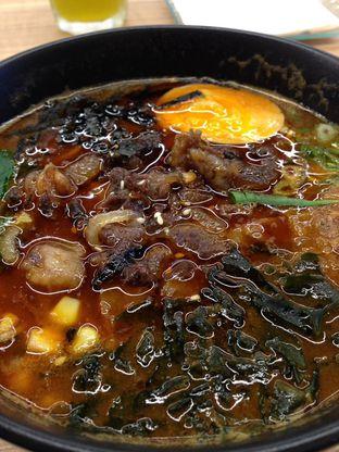 Foto 2 - Makanan(Gyu Curry Spicy Ramen) di Sekai Ramen & Sushi oleh awakmutukangmakan