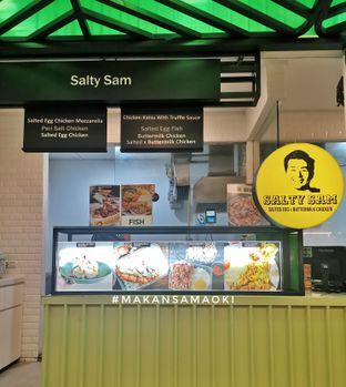Foto review Salty Sam oleh @makansamaoki  2