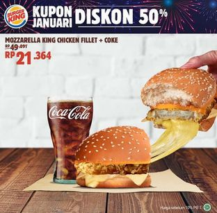 Foto 6 - Menu(Promo di Facebook Burger King) di Burger King oleh Kezia Kevina