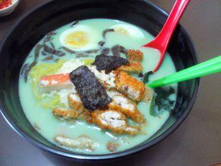 Foto 6 - Makanan(Matchazu raamen) di Rumah Lezat Simplisio oleh Nabila