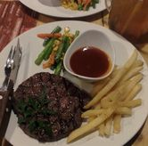 Foto Rib Eye Australian Meltique Beef di Double U Steak by Chef Widhi