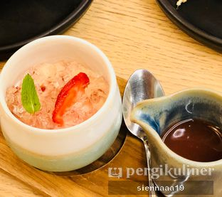 Foto 4 - Makanan(Strawberry Milk Pudding) di Okuzono Japanese Dining oleh Sienna Paramitha