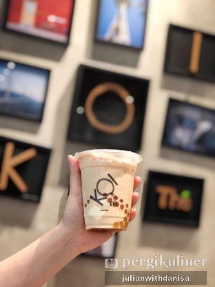 Foto - Makanan(Golden Bubble Milk Tea) di KOI The oleh Julian with danisa