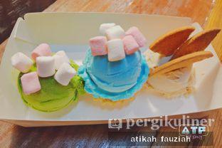 Foto review Glasch Nitrogen Ice Cream oleh atika fauziah 1