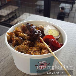Foto 2 - Makanan(Nasi Babi Bangka) di Piggy Ball oleh JC Wen