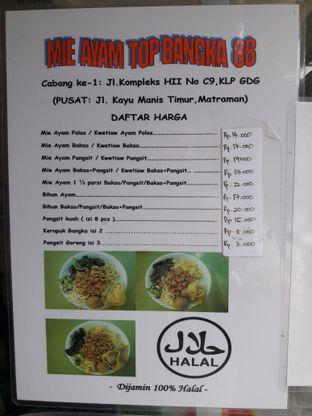 Foto 3 - Menu di Mie Ayam Bangka Top 88 oleh Fico Pangalila