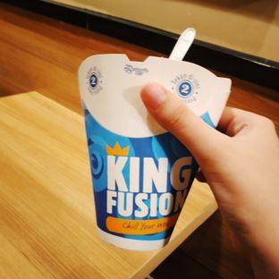 Foto 2 - Makanan(King Fusion Chocolate) di Burger King oleh Kezia Kevina