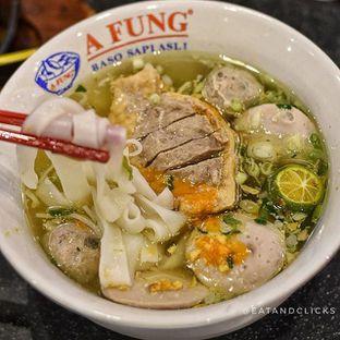 Foto - Makanan di A Fung Baso Sapi Asli oleh @eatandclicks Vian & Christine