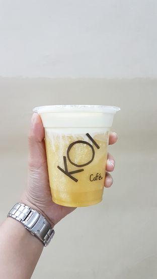 Foto 3 - Makanan(Mango macchiato) di KOI Cafe oleh Audry @thehungrydentist