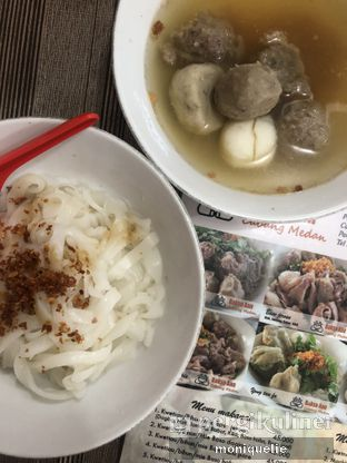 Foto - Makanan(Aneka baso) di Bakso Aan oleh Monique @mooniquelie @foodinsnap
