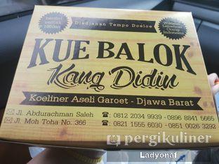 Foto 1 - Makanan di Kue Balok Kang Didin oleh Ladyonaf @placetogoandeat