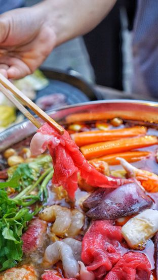 Foto 2 - Makanan di Golden Monkey HotPot & BBQ Mongolian oleh @kulineran_aja
