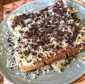 Foto Roti Coklat Keju di Kedai Kopi Aceh