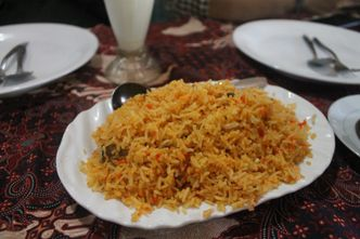 Foto Makanan di Taj Mahal