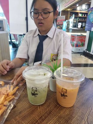 Foto review Blu Cheese Tea oleh Lulu Wijaya 1