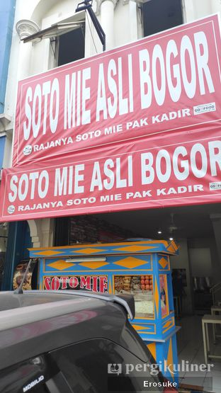 Foto review Soto Mie Asli Bogor Rajanya Soto Mie Pak Kadir oleh Erosuke @_erosuke 4