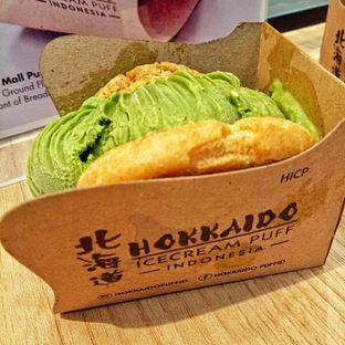 Foto 3 - Makanan(sanitize(image.caption)) di Hokkaido Icecream Puff oleh felita [@duocicip]